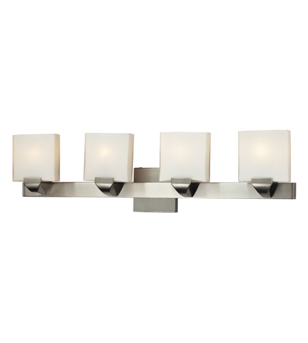 Nulco by ELK Lighting Milano 4 Light Vanity in Satin Nickel 84038/4 photo