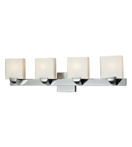 ELK 84048/4 Milano 4 Light 29 inch Chrome Vanity Wall Light photo