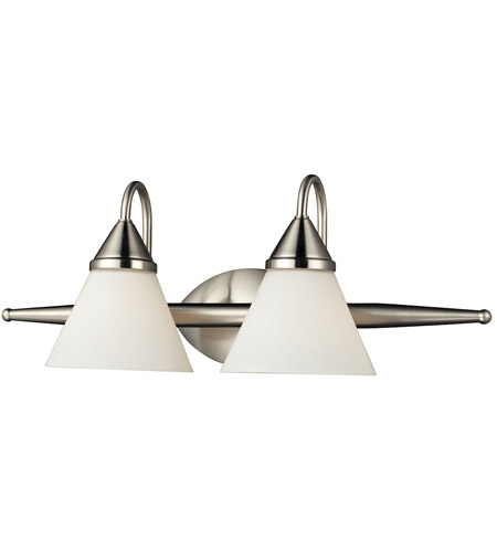 Nulco by ELK Lighting Alpine 2 Light Vanity in Satin Nickel 84056/2 photo