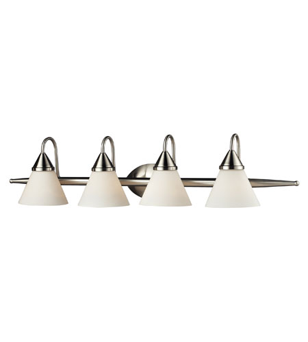 Nulco by ELK Lighting Alpine 4 Light Vanity in Satin Nickel 84058/4 photo