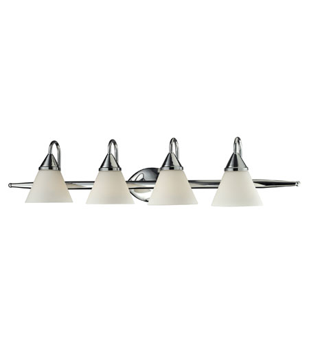 ELK 84068/4 Alpine 4 Light 36 inch Chrome Vanity Wall Light photo