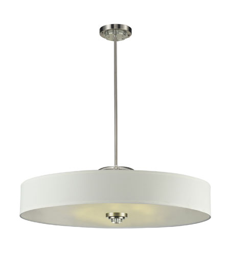 Nulco by ELK Lighting Montauk 6 Light Pendant in Pewter 84109/6 photo