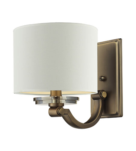 Nulco by ELK Lighting Montauk 1 Light Wall Sconce in Aged Brass 84120/1 photo