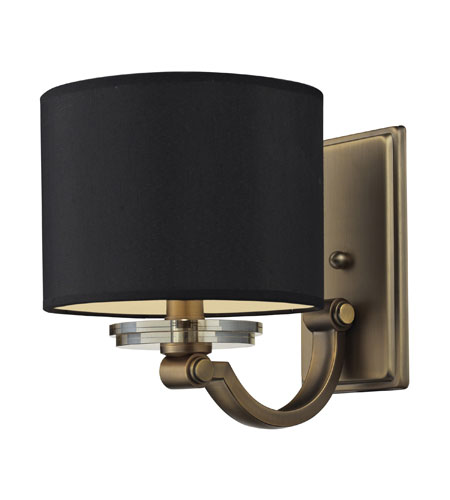 Nulco by ELK Lighting Montauk 1 Light Wall Sconce in Aged Brass 84121/1 photo