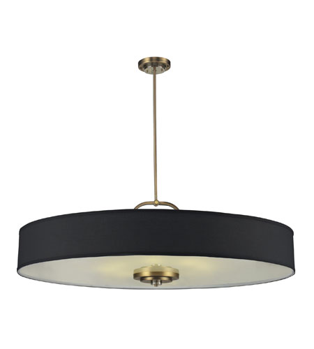ELK 84132/8 Montauk 8 Light 48 inch Aged Brass Pendant Ceiling Light photo
