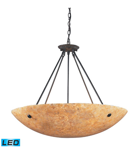 ELK 8898/8-LED Stonybrook LED 32 inch Dark Rust Pendant Ceiling Light photo