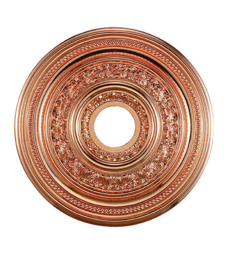 ELK Lighting English Study Medallion in Copper M1002CO photo