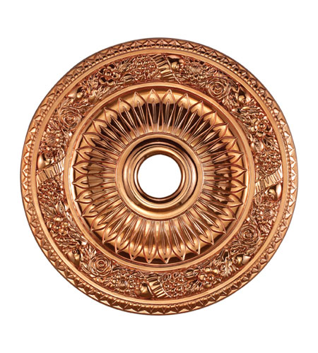 ELK Lighting Floral Wreath Medallion in Copper M1006CO photo