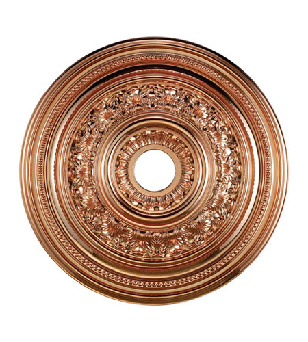 ELK Lighting English Study Medallion in Copper M1012CO photo