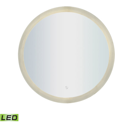 ELK LM3K-2424-BL-RD LED Lighted Mirrors 24 X 24 inch Silver Wall Mirror photo