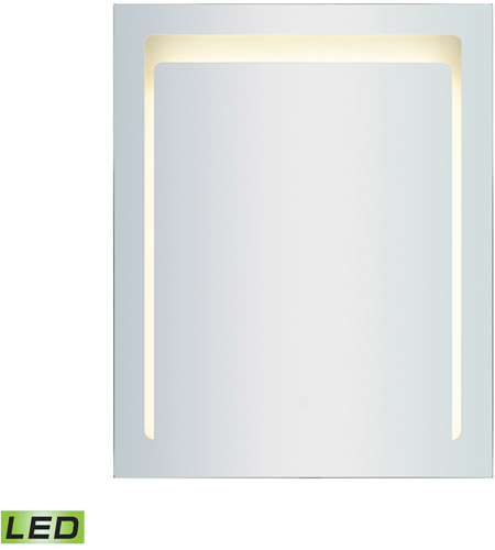ELK LM3K-2430-PL3 LED Lighted Mirrors 30 X 24 inch Brushed Aluminum Wall Mirror photo