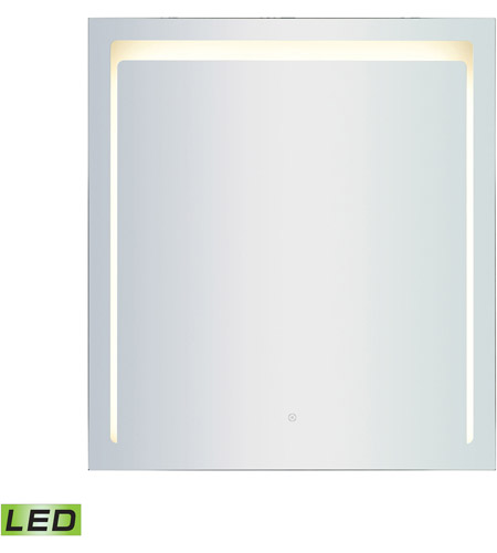 ELK LM3K-3640-PL3 LED Lighted Mirrors 40 X 36 inch Brushed Aluminum Wall Mirror photo