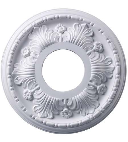 ELK M1000WH Acanthus White Medallion photo