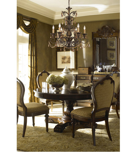 ELK 3343/3 Rochelle 3 Light 18 inch Weathered Mahogany Ironwork Chandelier Ceiling Light photo