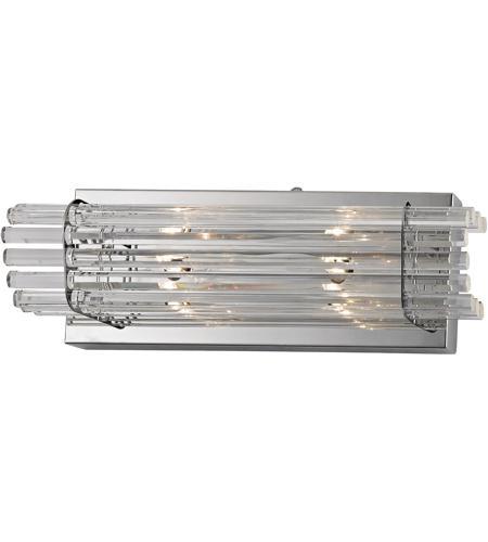 ELK WS702-0-15 Quebec 2 Light 16 inch Chrome Vanity Wall Light