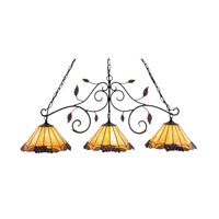 ELK Lighting Grape Trellis 3 Light Billiard/Island in Antique Iron 039-IA