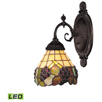 ELK Lighting Mix-N-Match 1 Light Wall Sconce in Tiffany Bronze 071-TB-07-LED