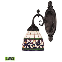 ELK Lighting Mix-N-Match 1 Light Wall Sconce in Tiffany Bronze 071-TB-13-LED
