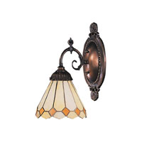 ELK Lighting Diamond 1 Light Wall Sconce in Tiffany Bronze 071-TB-05