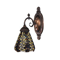 ELK Lighting Mix-N-Match 1 Light Wall Sconce in Tiffany Bronze 071-TB-20