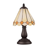 ELK Lighting Mix-N-Match 1 Light Table Lamp in Tiffany Bronze 080-TB-05