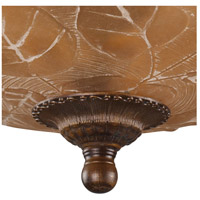 ELK 08096-AGB Restoration 3 Light 16 inch Golden Bronze Semi Flush Mount Ceiling Light in Standard alternative photo thumbnail