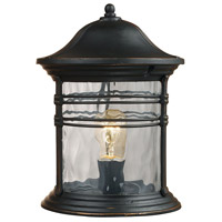 ELK Lighting Madison 1 Light Outdoor Post Light in Matte Black 08169-MBG