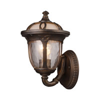 ELK Lighting Windsor 1 Light Outdoor Sconce in Hazelnut Bronze 08181-HB photo thumbnail