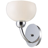 ELK Lighting Lanza 1 Light Sconce in Polished Chrome 10002/1