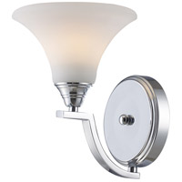 OLIVIA 1 Light 7 inch Polished Chrome Sconce Wall Light