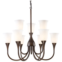 ELK Lighting Cabaret 9 Light Chandelier in Aged Bronze 10029/6+3