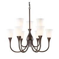 ELK 10029/6+3 Cabaret 9 Light 34 inch Aged Bronze Chandelier Ceiling Light