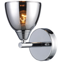 Reflections 1 Light 5 inch Polished Chrome Vanity Wall Light