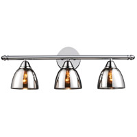 Reflections 3 Light 23 inch Polished Chrome Vanity Wall Light