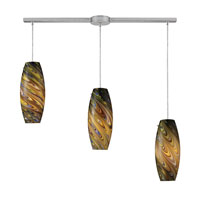ELK Lighting Vortex 3 Light Pendant in Satin Nickel 10079/3L-CV