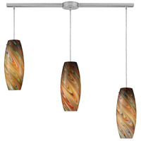ELK Lighting Vortex 3 Light Pendant in Satin Nickel 10079/3L-RV