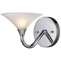 JENSON 1 Light 7 inch Polished Chrome Sconce Wall Light