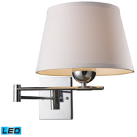 ELK Lighting Lanza 1 Light Swingarm Sconce in Polished Chrome 10106/1-LED
