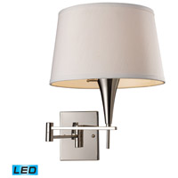 Swingarm 22 inch 13.5 watt Polished Chrome Swingarm Sconce Wall Light in LED