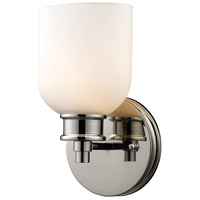 Dione 1 Light 6 inch Polished Nickel Sconce Wall Light