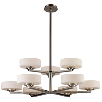 ELK Lighting Sousa 9 Light Chandelier in Polished Nickel 10138/6+3
