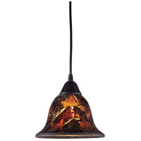 ELK Lighting Firestorm 1 Light Pendant in Dark Rust 10144/1FS
