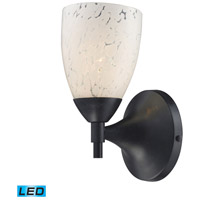 ELK Lighting Celina 1 Light Wall Sconce in Dark Rust 10150/1DR-SW-LED