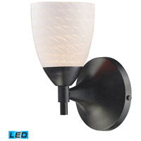 ELK Lighting Celina 1 Light Wall Sconce in Dark Rust 10150/1DR-WS-LED