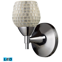 ELK Lighting Celina 1 Light Wall Sconce in Polished Chrome 10150/1PC-SLV-LED