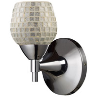 ELK Lighting Celina 1 Light Sconce in Polished Chrome 10150/1PC-SLV