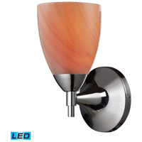 ELK Lighting Celina 1 Light Wall Sconce in Polished Chrome 10150/1PC-SY-LED