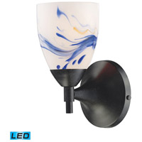 ELK 10150/1DR-MT-LED Celina LED 6 inch Dark Rust Wall Sconce Wall Light in Mountain Glass