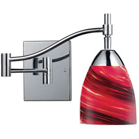 ELK Lighting Celina 1 Light Swingarm Sconce in Polished Chrome 10151/1PC-A