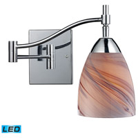 ELK Lighting Celina 1 Light Swingarm Sconce in Polished Chrome 10151/1PC-CR-LED